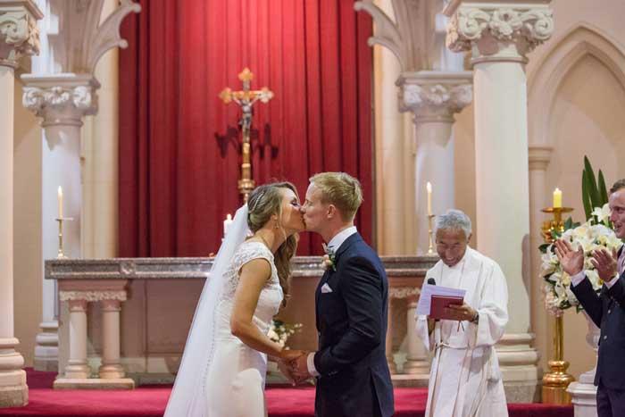 Cardinal Ceretti Chapel traditonal ceremony