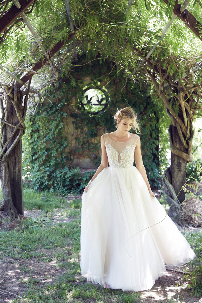 Enchanted Garden Ethereal Wedding Gowns Modern Wedding