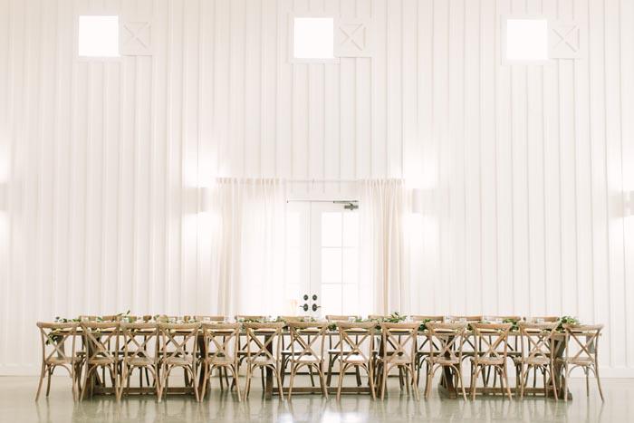 Ethereal Real Wedding Bridal Table