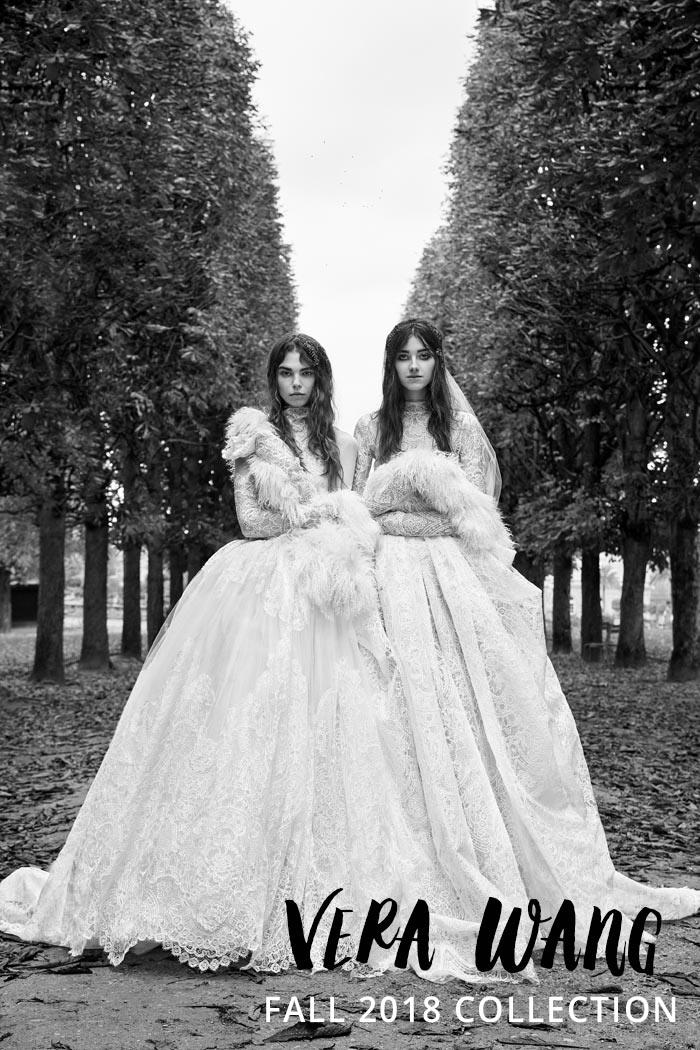 b48f09729b930 Vera Wang's Fall 2018 Bridal Collection - Modern Wedding
