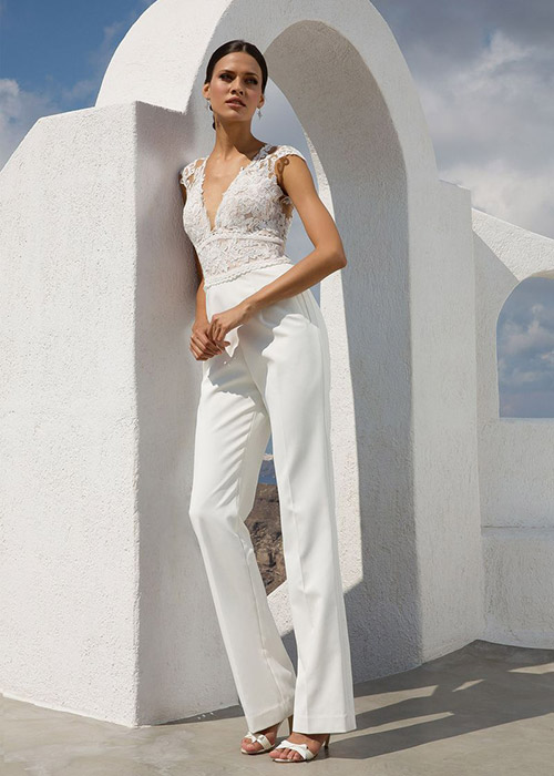 Bridal Jumpsuits The Trend We Are Loving Modern Wedding