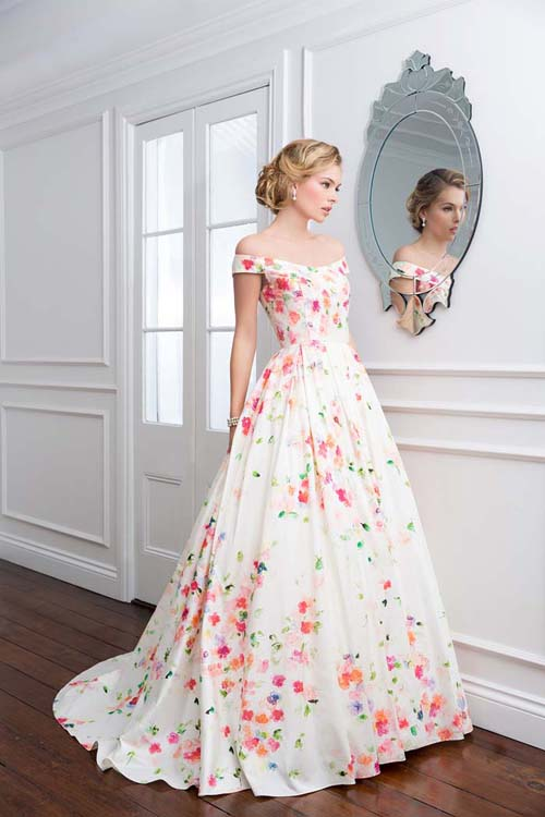 Our top 10 favourite floral wedding dresses - Modern Wedding