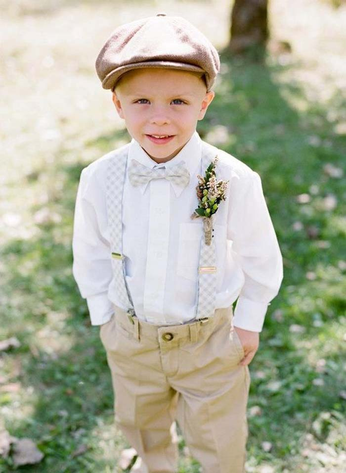 7a416b56c7 The Cutest Ring Bearer and Flower Girl Outfits