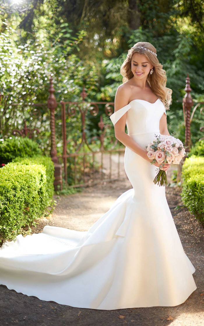 Simple and Classic Wedding Dresses