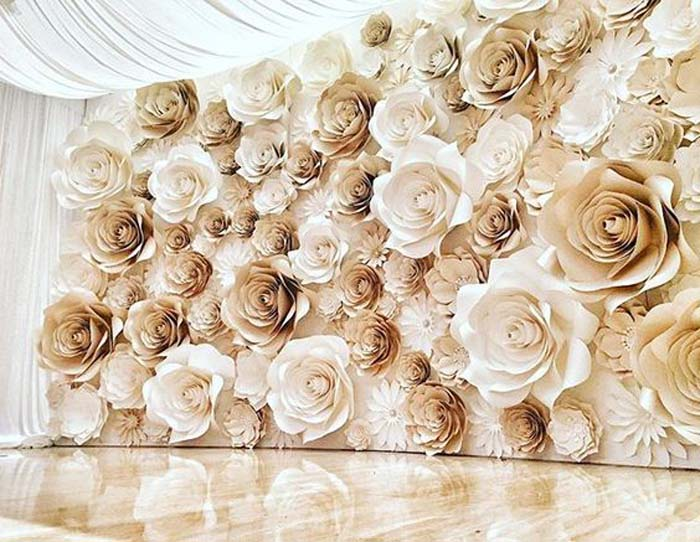 15 Flower Wall Wedding Ideas Our Favourites