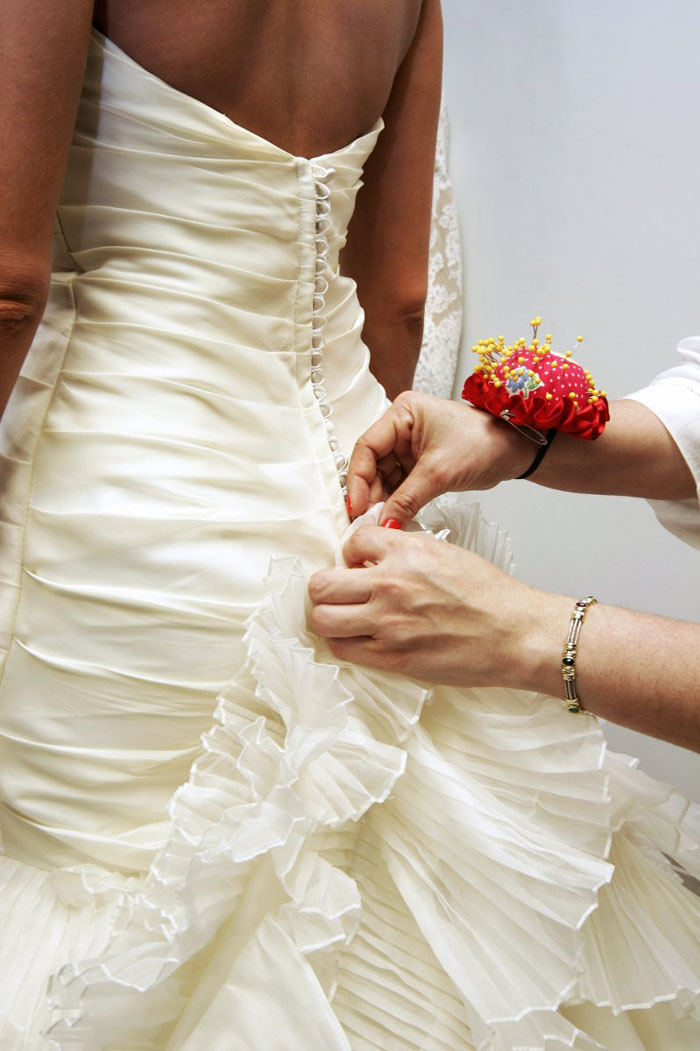 Altering Your Wedding Dress