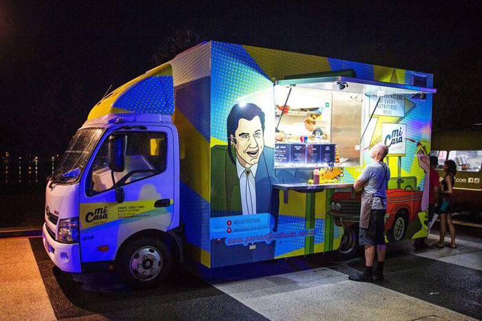 Food and Drink Trucks - Burgers