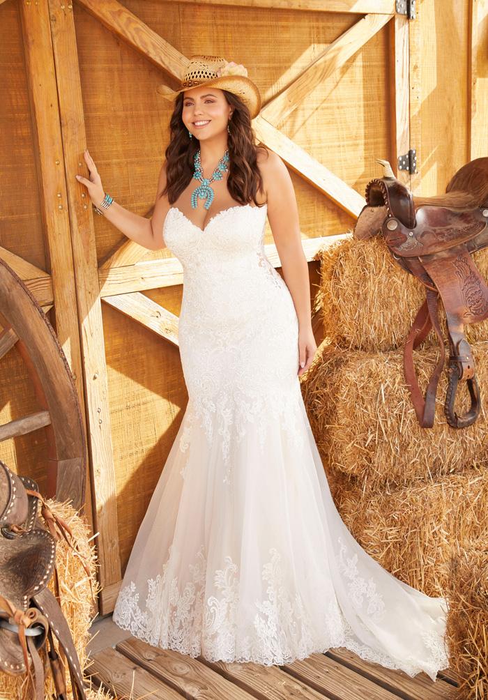 Wedding Dresses For A Curvy Bride Modern Wedding