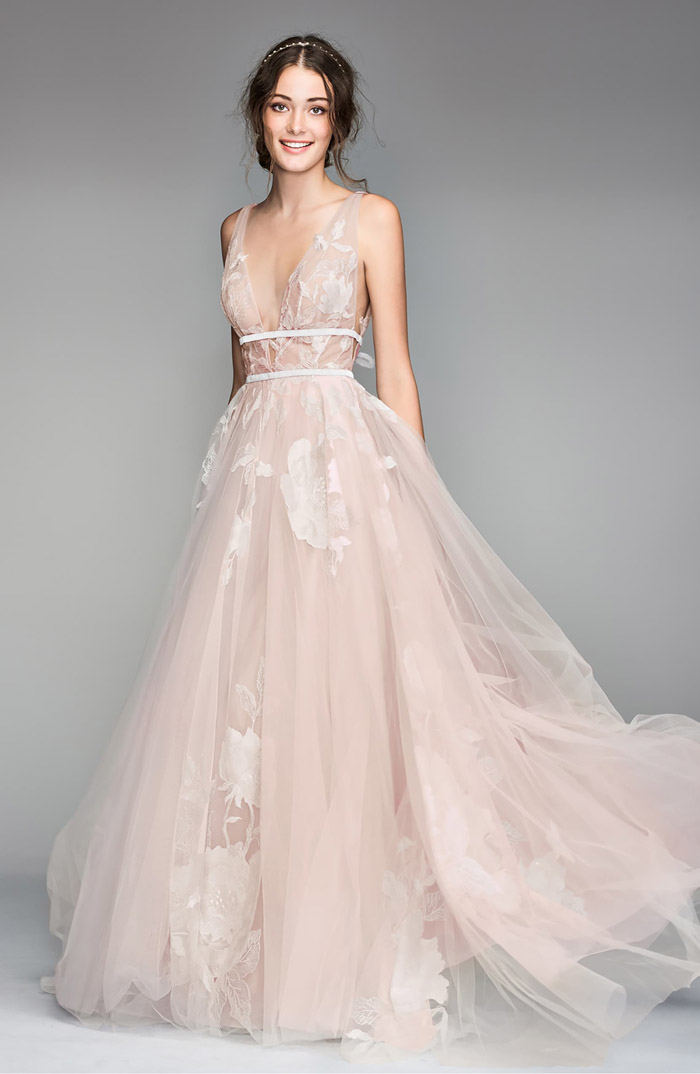 Rosy Dresses For The Blushing Bride