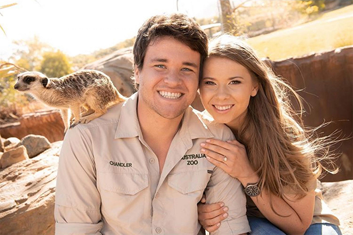 Bindi Irwin and Chandler Powell Wedding