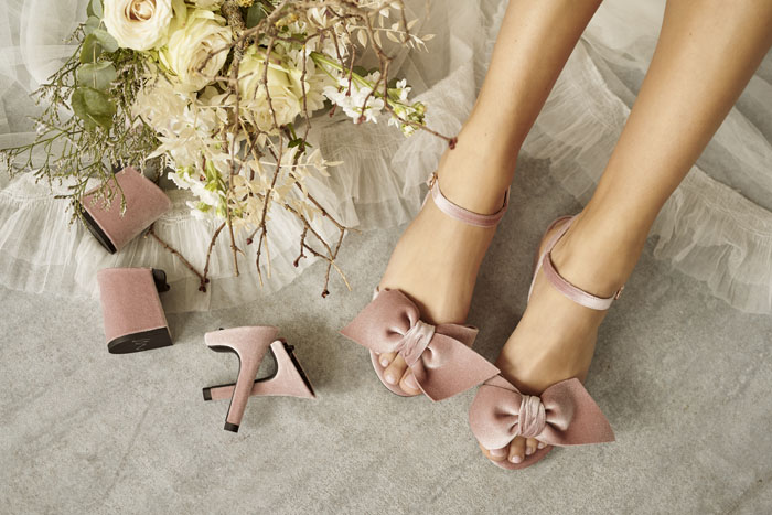 Adjustable Wedding Shoes