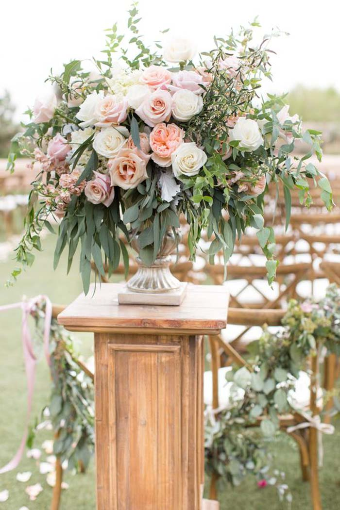 flowers to style wedding aisle