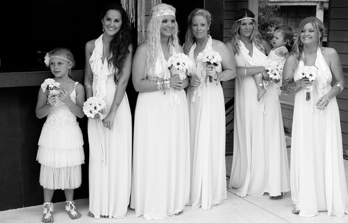 Bohemain Bridesmaids