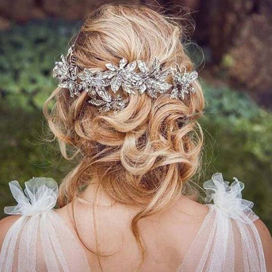Maria elena headpiece