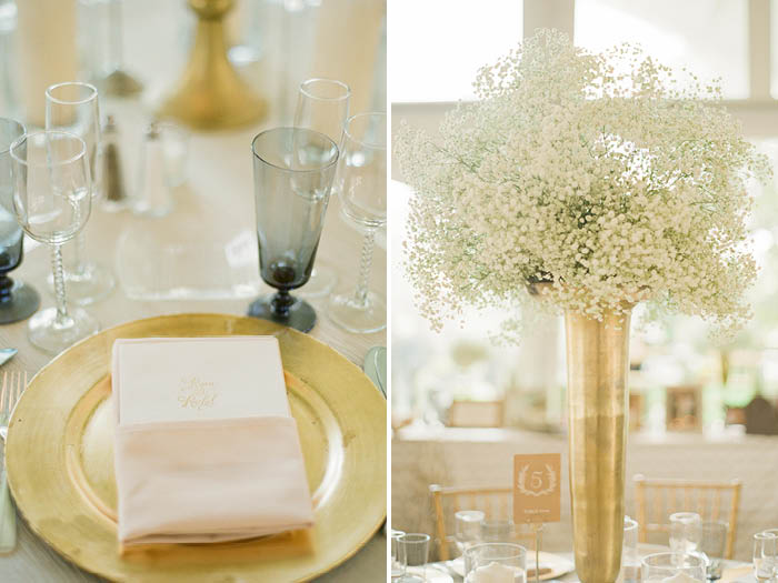Gold Wedding Details