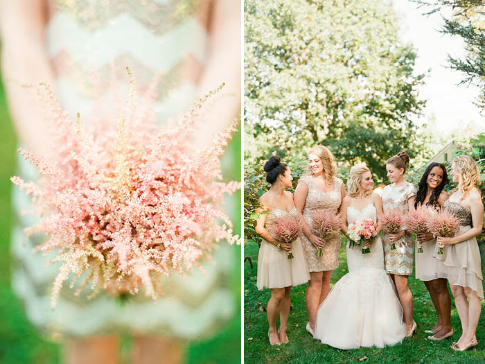 Bridesmaids' Bouquet and Bridesmaids