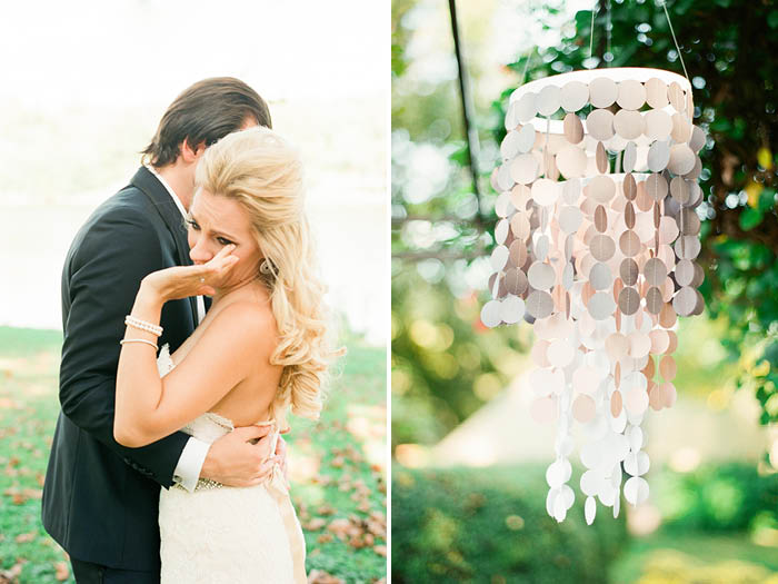 Blush Outdoor Wedding Lindsay Madden Photography