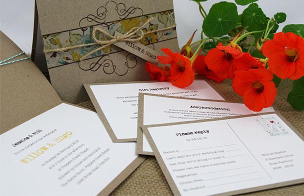 Wedding invitations - Papertales 1